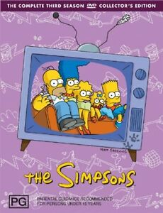 The Simpsons : Season 3 (DVD, 2007, 4-Di...