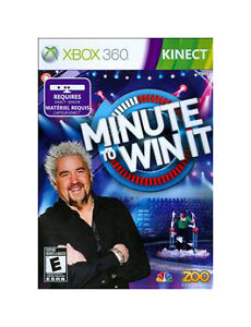 Minute-to-Win-It-Xbox-360-2011-NEW-SEALED-NIB