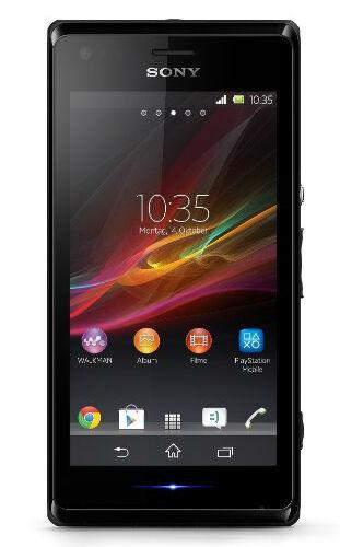 Sony  XPERIA C - 4 GB - Black - Smartphone