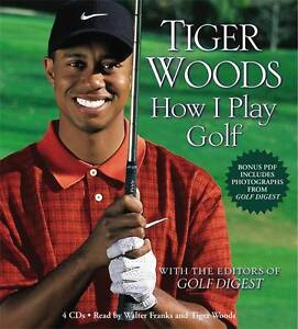 How I Play Golf, Tiger Woods, Audio CD, New