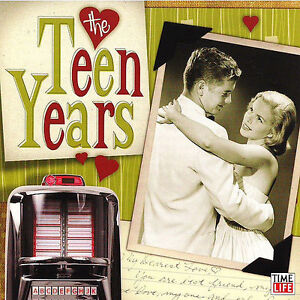 The-Teen-Years-10-Cd-Set-Time-Life-Music-FREE-Collectors-Box