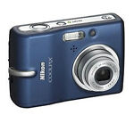 Nikon COOLPIX L11 6.0 MP Digital Camera - Silver