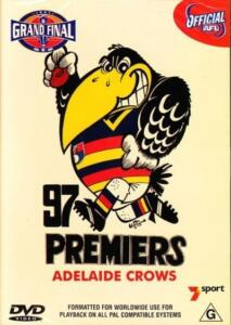 AFL-Football-97-Premiers-Grand-Final-NEW-DVD-Adelaide-Crows-REGION-4-Australia