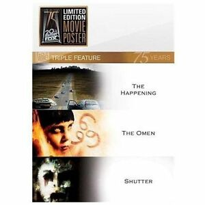 The-Happening-The-Omen-Shutter-DVD-2010-3-Disc-Set-MINT-DISCS