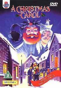 A Christmas Carol DVD 2007 Animated Classic Childrens Cartoon Animation R2 NEW