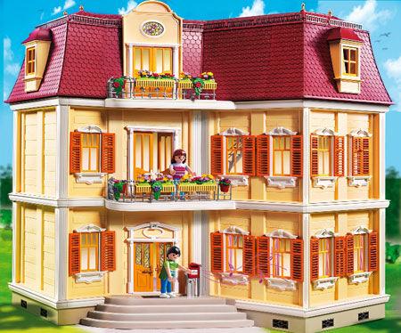 Das Puppenhaus von Playmobil – hier üben sich kleine Puppeneltern
