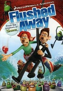 Flushed Away (DVD, 2007, Widescreen; Sen...