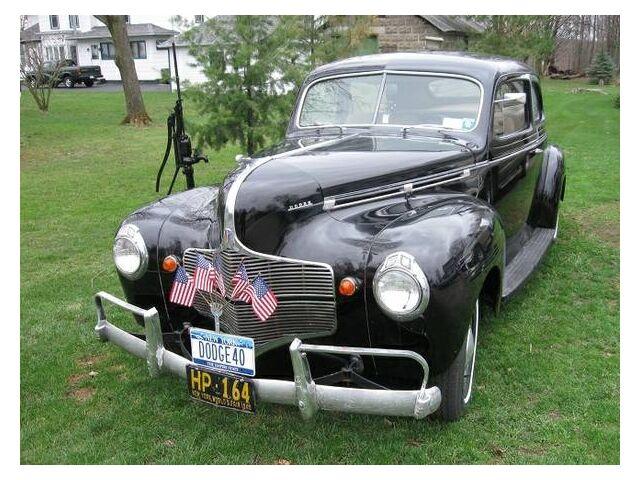 1940 dodge 2 door sedan survivor rare find we export for 1940 dodge 2 door sedan