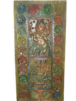 Wooden Door Panels Hindu Art Carving