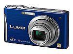 Panasonic LUMIX DMC-FH25 16.1 MP Digital Camera - Blue