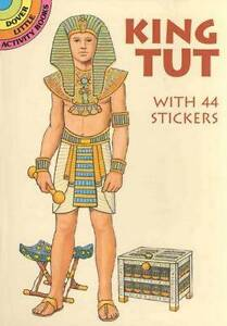 NEW King Tut: With 44 Stickers (Dover Little Activity Books Paper Dolls)