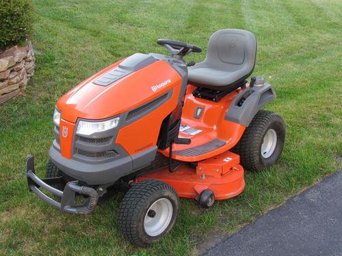 John Deere Vs Husqvarna Lawn Riding Mower Ebay