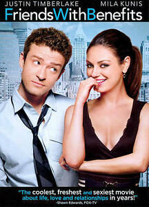 FRIENDS-WITH-BENEFITS-2011-dvd-MILA-KUNIS-justin-timberlake-WOODY-HARRELSON