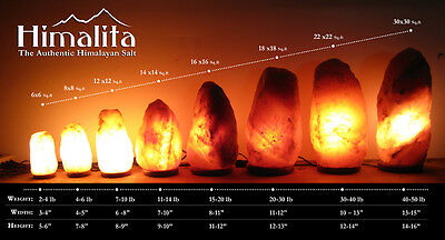 Himalayan salt lamps benefits ebay for Large salt rock lamp