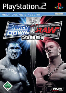 WWE SmackDown Vs. Raw 2006 (Sony PlayStation 2, 2005, DVD-Box)(H) 3582