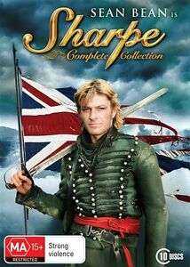 Sharpe-The-Complete-Collection-Sean-Bean-DVD-R4-NEW-SEALED