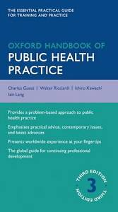Oxford Handbook of Public Health Practice by Oxford University Press...