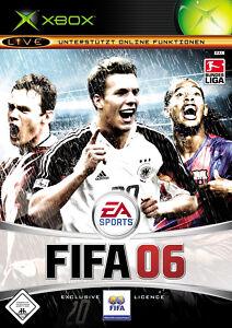 XBOX Spiel FIFA 06 ohne Anleitung guter Zustand + OVP
