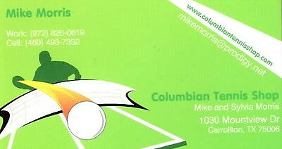 Columbian Tennis Shop Carrollton TX