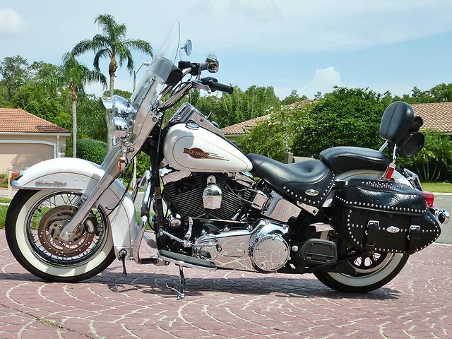 2008 Heritage Classic Only 8 191 Miles Custom Chrome Wheels 1584cc 6 Speed Mint