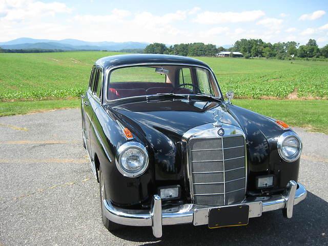 1957 mercedes benz 220s vgc mechanically rebuilt no for 1957 mercedes benz 220s
