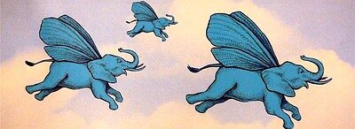 Flying Blue Elephants 1