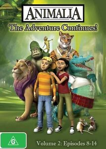 Animalia Volume 2 DVD R4