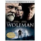 The Wolfman (DVD, 2010, Rated/Unrated Versions)