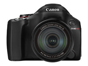 Canon PowerShot SX40 HS 12.1 MP Digital ...