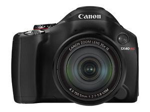 Canon PowerShot SX40 HS 12.1 MP Digital ...