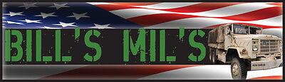 Bill's Mil's