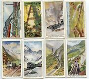 Tobacco Cards Trains