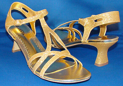 Lava - Bethany 2076 Gold Open Toe Sandals / Shoe