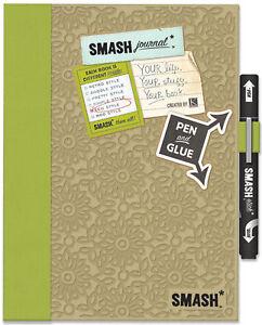 SMASH-SCRAPBOOK-Journal-Album-K-Company-Eco-Green-NEW
