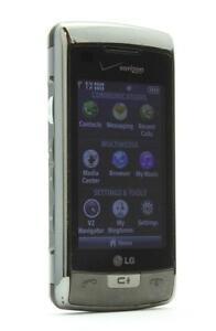 LG-EnV-Touch-VX11000-Black-silver-Verizon-Smartphone-CLEAN-ESN-USED-PHONE-D