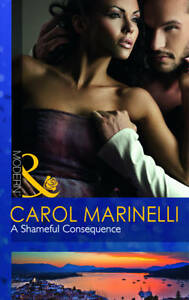 A Shameful Consequence by Carol Marinelli Paperback 2011 Mills & Boon Modern Rom