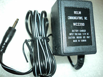Relm Wc2200 Battery Charger Adapter