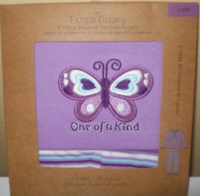 Girls Faded Glory Pajamas Purple One Of A Kind