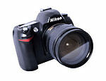 Nikon COOLPIX D70 6.1 MP Digital SLR Camera (Kit w/ 18-70mm Lens)