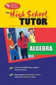 Algebra Tutor by Education Association Staff, Research (Paperback, 1993)