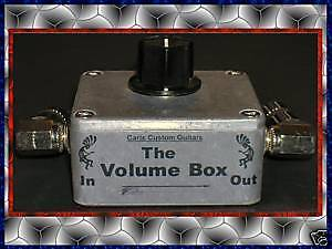 METAL-VOLUME-BOX-GUITAR-ATTENUATOR-FOR-CARVIN-AMP