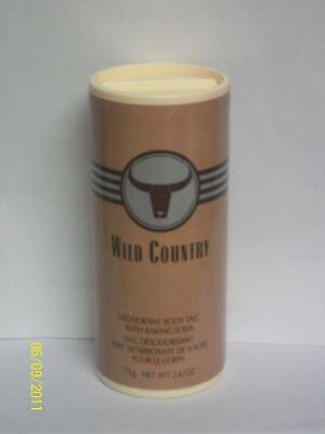 Avon Wild Country Talc Powder 2.65 Oz.