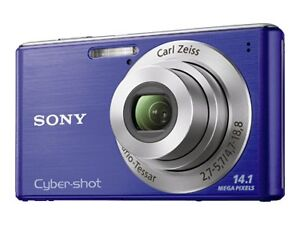 Sony-Cyber-shot-DSC-W530-14-1-MP-Digital-Camera-Blue-NEW-Free-Shipping