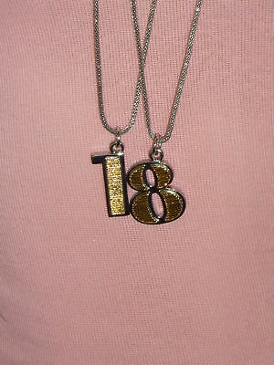 Mimco Jewellery- Number Charms Necklace 18 Rrp$200