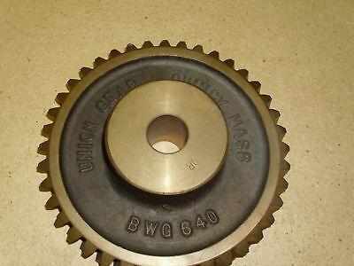 New Bronze Worm Gear Bwg640q Bwg640-4 1 Plain Bore R.h.