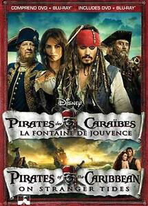 Pirates of the Caribbean: On Stranger Tides (Blu-ray/DVD, 2011, 2-Disc Set,...