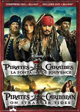 Pirates of the Caribbean: On Stranger Tides Blu-ray/DVD, 2-Disc Set w/slipcase