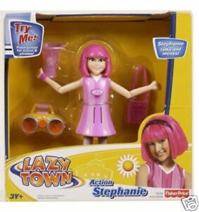 LAZY-TOWN-Stephanie-TALKING-Fully-Articulated-Figure