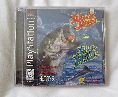 Black Bass With Blue Marlin (playstation Ps1) Brand