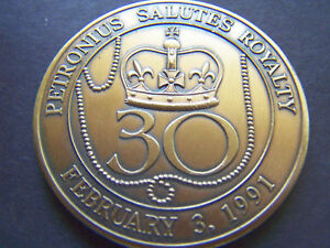 1991-Petronius-30th-Anniversary-Antique-Bronze-Mardi-Gras-Doubloon